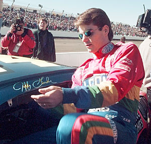 Jeff Gordon in his Wonder Boy days.