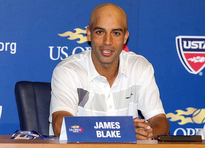 James Blake made it to the quarterfinals of the U.S. Open in 2005 and '06, but never won a Grand Slam.