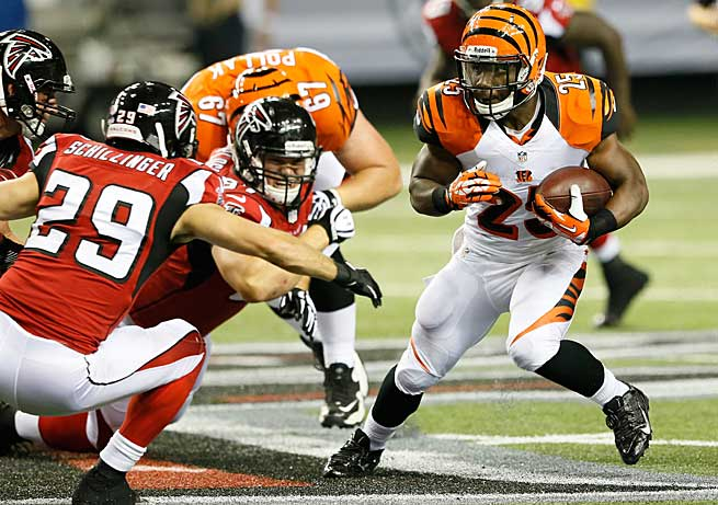 Owners would be wise to avoid the unjustified elevated draft status of Giovani Bernard of Cincinnati.