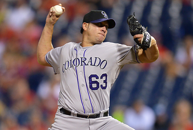 Rafael Betancourt will finish 2013 with 16 saves in 19 chances and a 4.08 ERA.