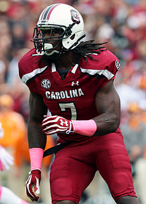 Jadeveon Clowney racked up 13 sacks and 23.5 tackles for loss in 2012.