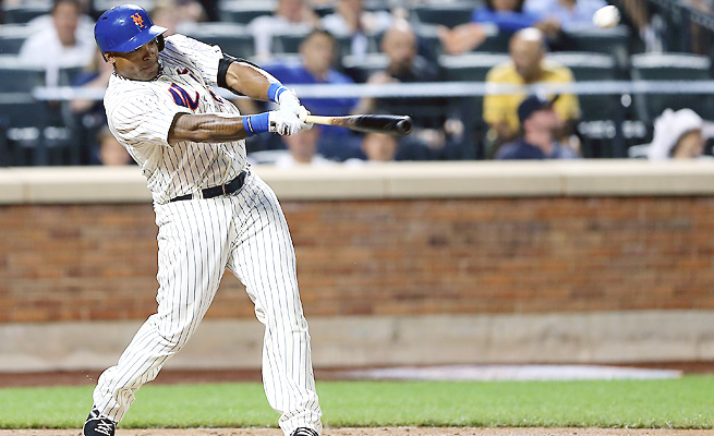 Marlon Byrd has found a career resurgence in New York, hitting .285 with 21 home runs and 71 RBIs.