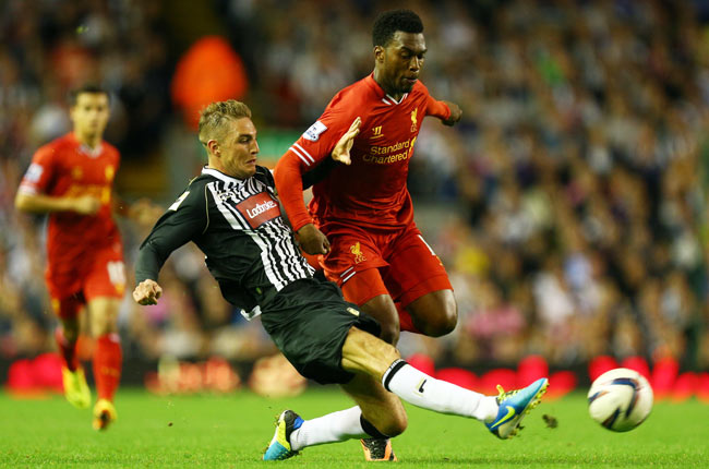 Daniel Sturridge scored two goals against Notts County, with one coming in extra time.