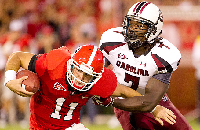 Jadeveon Clowney tallied 13 sacks in 2012, a Gamecocks' record. Could he surpass that this season?