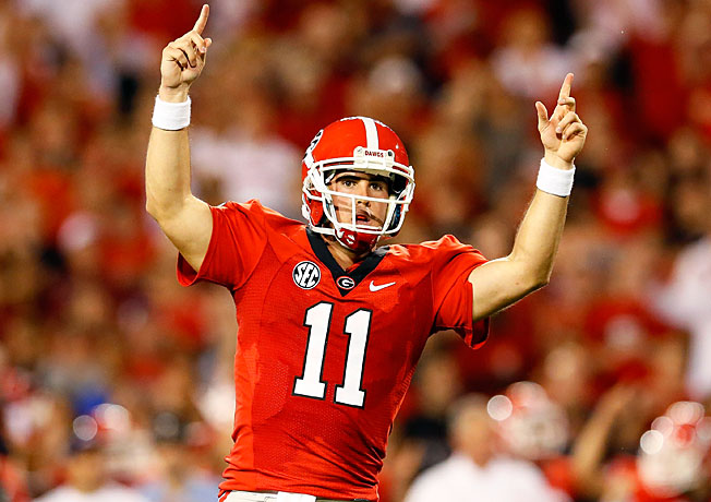 If Aaron Murray and Georgia can beat Clemson and South Carolina, they could be poised for a huge '13.