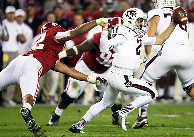After knocking off Alabama in Tuscaloosa last year, Texas A&M will host the Crimson Tide on Sept. 14.