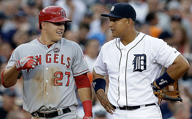 Mike Trout and Miguel Cabrera are likely to be the top two finishers yet again in the AL MVP voting.