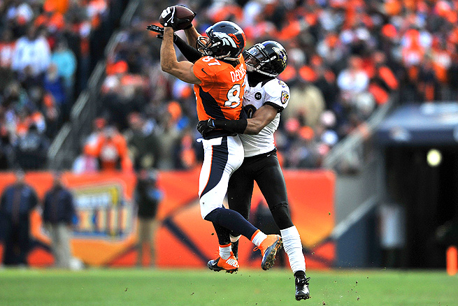 Eric Decker had 1,064 receiving yards and 13 touchdowns for the Broncos last season.
