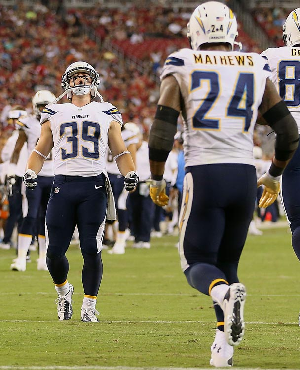San Diego Chargers Danny Woodhead: Ranking The NFL's Best Backfields
