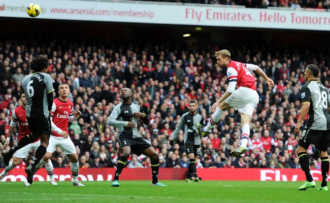 The past two North London derbies at the Emirates have both ended 5-2 in Arsenal's favor.