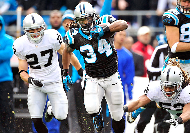 DeAngelo Williams will open the season as Carolina's top back, with Jonathan Stewart on the PUP.