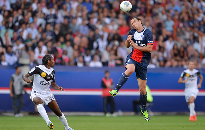 Zlatan Ibrahimovic scored 30 goals to lead PSG to their first league title since 1994 last season.