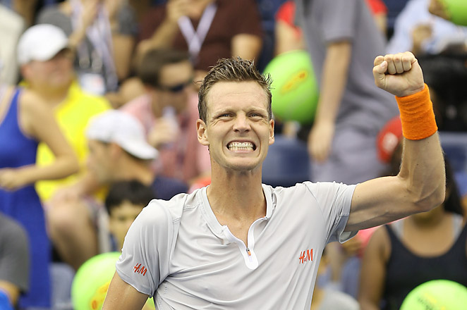 Fifth-seeded Tomas Berdych will now face ninth-seeded Stanislas Wawrinka in the round of 16.