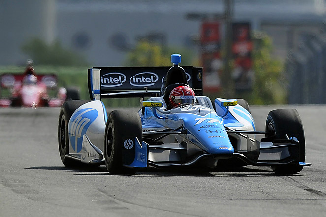 29-year-old Pagenaud became the third driver to win in three years at the challenging street course.