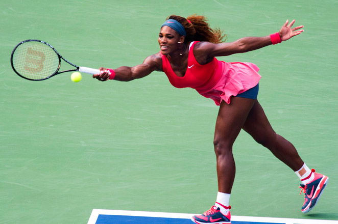 Williams, a 16-time Grand Slam champion, won eight of the last nine games against Stephens in Sunday's rematch.