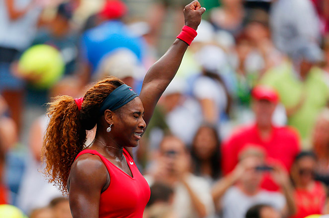 Serena improved to 64-4 in 2013 and has dropped just 13 games en route to the quarterfinals.