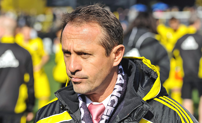 With the Crew in eighth place in the East, the club opted to fire five-year coach Robert Warzycha.