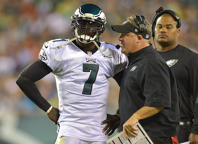 Michael Vick proved that he deserved to be the Eagles' starting quarterback during the preseason.