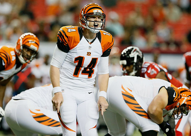 If he continues to improve, Andy Dalton could be a Super Bowl quarterback one year. And he doesn't have enough supporting characters to do so this year.