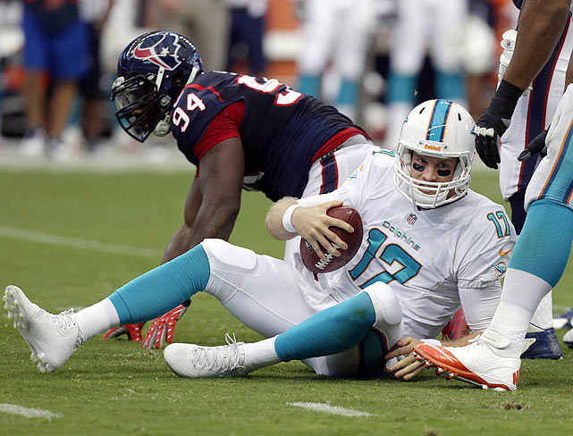 Without four-time Pro Bowl left tackle Jake Long to protect his blind side, quarterback Ryan Tannehill will have a more difficult time staying upright. The Dolphins might not even make the playoffs, let alone have visions of playing in the Super Bowl.