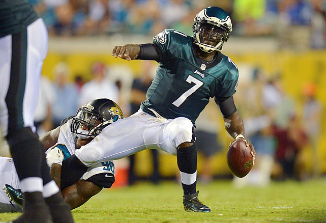 Michael Vick has the physical skills to succeed in first-year coach Chip Kelly's fast-paced offense that he brought with him from Oregon, but the flamboyant quarterback still has diagnostic problems and ball security issues.