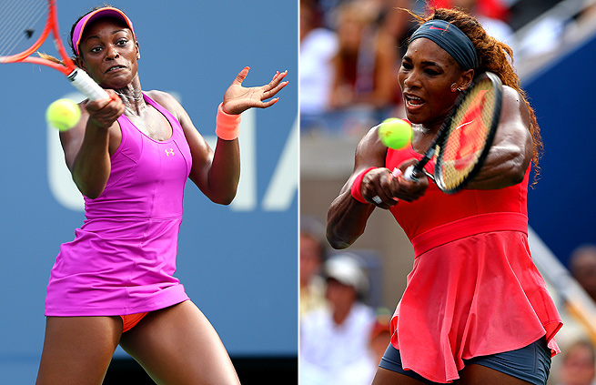 Serena Williams continues to praise Sloane Stephens, in a way placing pressure on the young player.