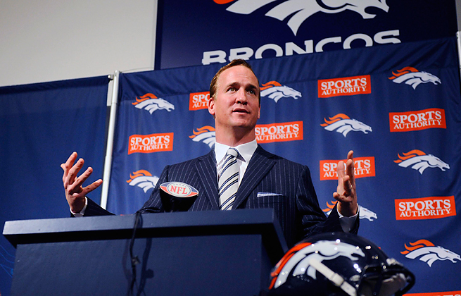 Peyton Manning's ease in front of a microphone likely will make him a wanted man by TV executives.