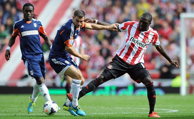 Jozy Altidore (right) sat out Sunderland's match on Saturday because of a hamstring injury.