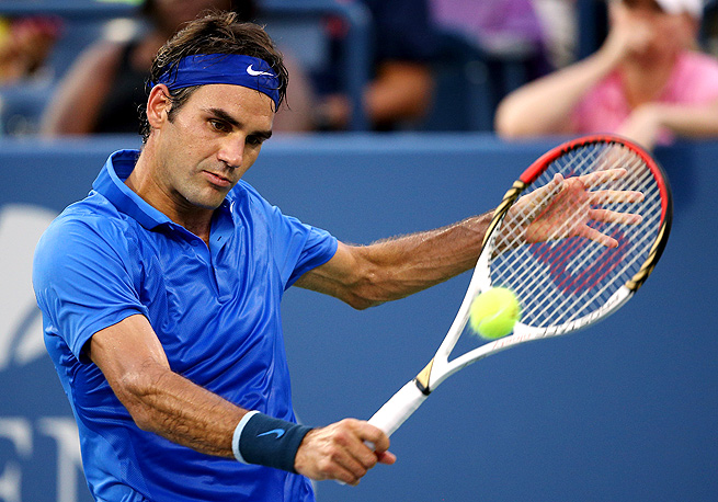 This marks the first year since 2002 that Roger Federer won't make a Grand Slam final.