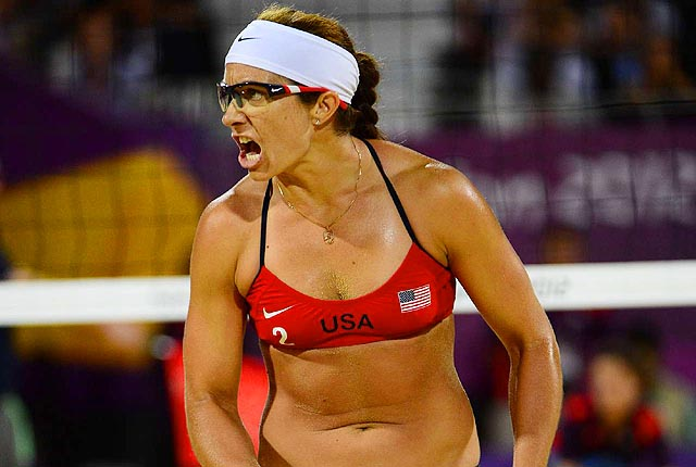 May-Treanor and her partner Kerri Walsh-Jennings became the first pair to win Olympic gold three times.