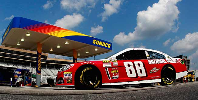 The National Guard helped get Junior over the sponsorship hump this season.