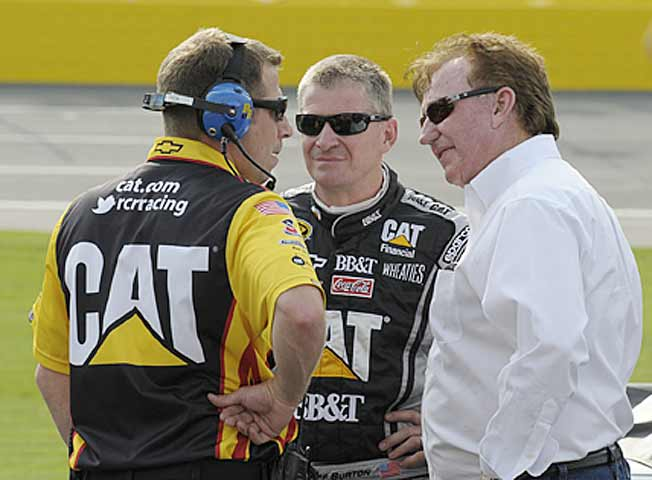 Owner Richard Childress (right) has seen quite enough of Jeff Burton, who is winless since 2008.