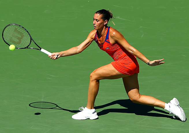 After weathering ups and downs during her career, things are falling into place for Flavia Pennetta.