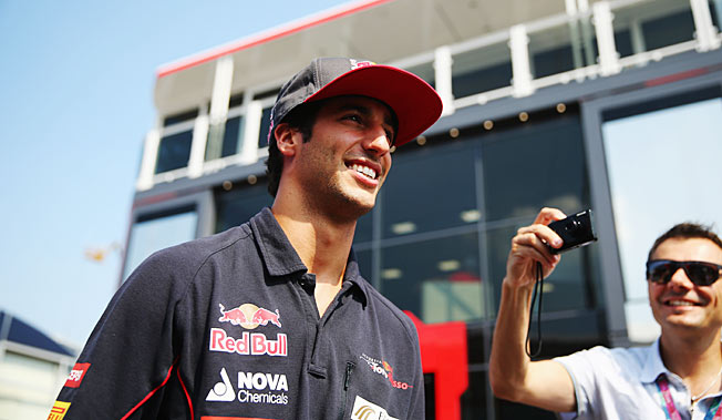 Much will be expected of Daniel Ricciardo as a teammate of three-time F1 champ Sebastian Vettel.