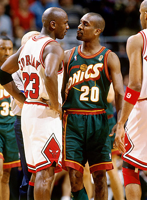 Gary Payton talked trash with everyone from Michael Jordan to his teammates.