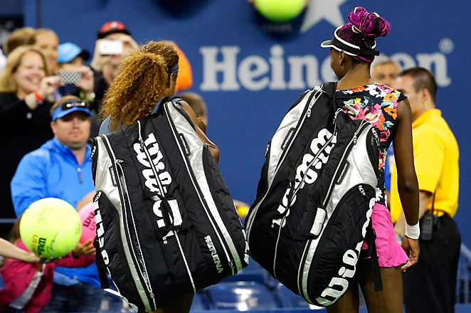 The Williams sisters have 13 major doubles titles, while Hlavackova and Hradecka are trying to win their second.