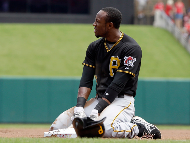 Starling Marte is back with the Pirates after missing time due to a strained right ring finger.