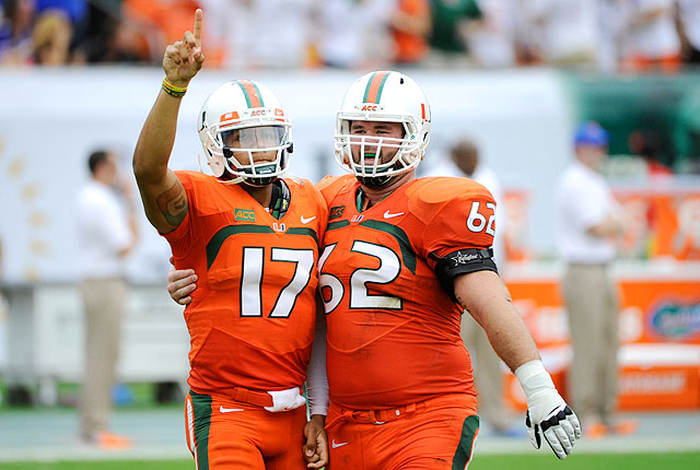 With a win against Florida, Miami returned to the AP poll for the first time since 2010.