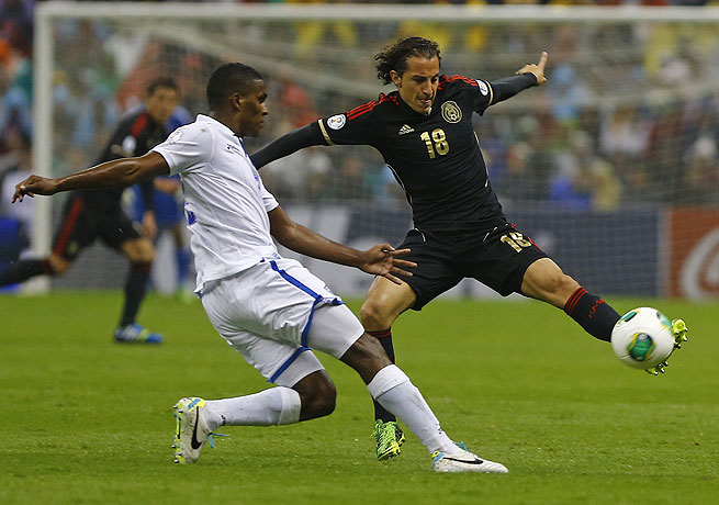 Andres Guardado (right) and Mexico suffered a surprising loss to Honduras at home on Friday.
