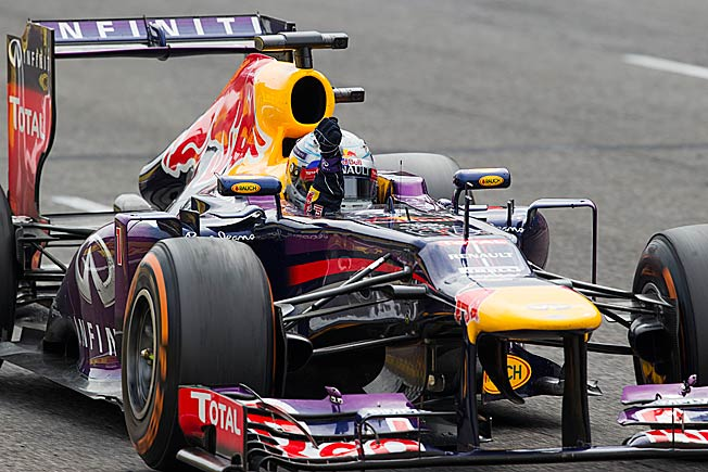 Sebastian Vettel keads the F1 points standings by 53 after rallying to win at Monza on Sunday.
