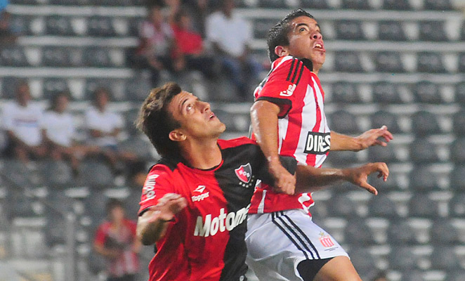 Maximiliano Urruti (left) was acquired by Toronto FC from Newell's Old Boys in August, but played sparingly.