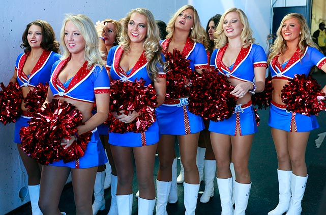 Refuse. Buffalo bills cheerleaders rather