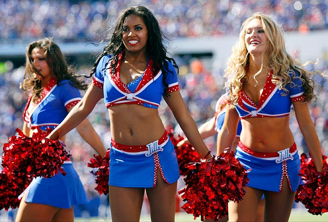Buffalo bills cheerleaders can recommend