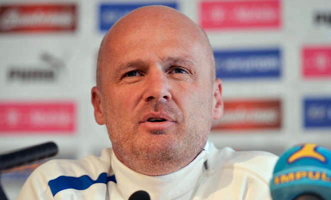 Michal Bilek coached the Czech Republic to the quarterfinals of Euro 2012, but missed out on World Cup qualification.