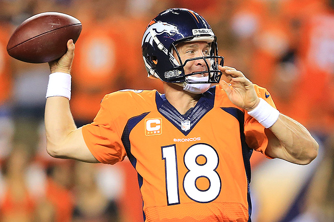 Peyton Manning threw for 462 yards and a record-tying seven touchdowns in Week 1 of the season.