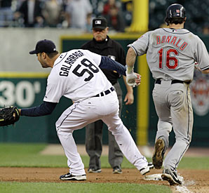 Jason Donald's hustle was rewarded against Armando Galarraga back in 2010.