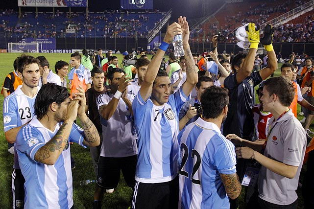 The South American giants defeated Paraguay 5-2 to assure their place in next summer's tournament.
