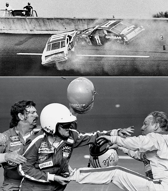 Repeated contact between Yarborough and Allison and their subsequent crash in the final lap of the 1979 Daytona 500, won by Richard Petty, incensed Allison's brother Bobby to the point where he got into a hair-raising fistfight with Yarborough. Donnie Allison and Yarborough swapped accusations of deliberately trying to cause a wreck. NASCAR fined each of them $6,000.