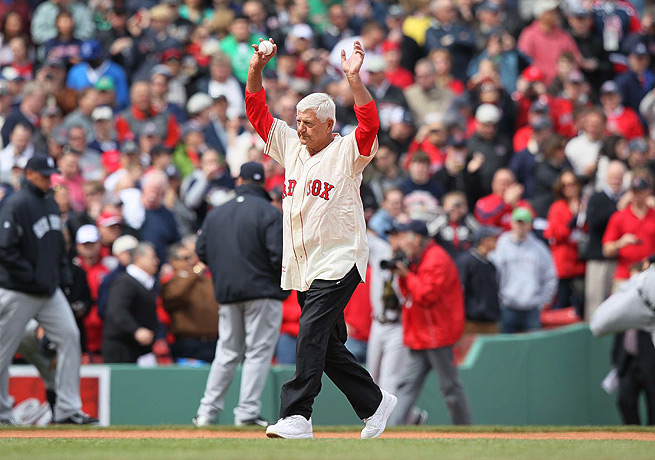 Carl Yastrzemski has remained a Red Sox favorite long after his retirement in 1983.
