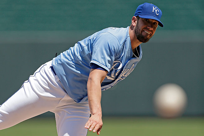 James Shields has been just what the Royals were hoping for when they got him from the Rays last offseason.